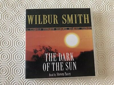 Wilbur Smith The Dark Of The Sun Audio Book - 3 CDs - 3 Hours