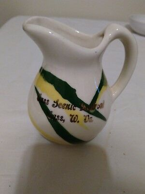 Cass Scenic Railroad jug/pitcher