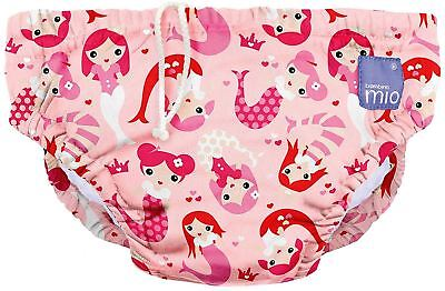 Bambino Mio Reusable Swim Nappy Mermaid Pink - 2+ years