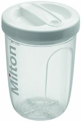 Milton SOLO SINGLE BOTTLE STERILISER Microwave/Coldwater Steriliser Baby BN