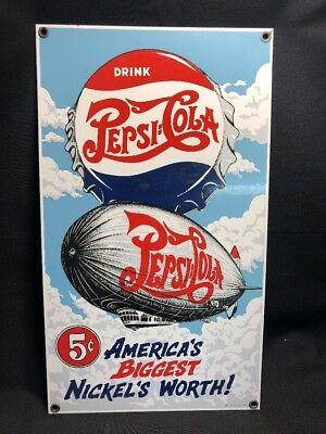 1995 Ande Rooney America'S Biggest Nickels- Porcelain Enamel Advertising Sign