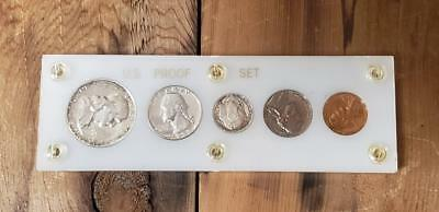 1958 US Proof Set In Capital Holder (White)