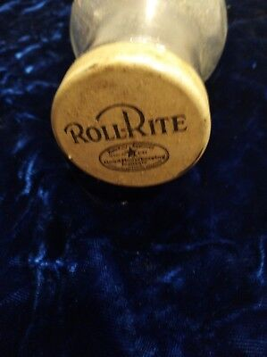 Vintage Good Housekeeping Institute Roll-Rite Glass Rolling Pin