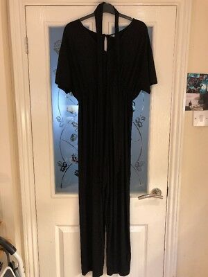 Ladies Clothes Size 10 Asos Black Stretchy Maternity Jump Suit