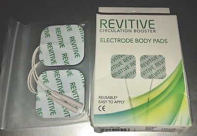 NEW! Revitive Circulation Booster Electrode Body Pads (4 pads)