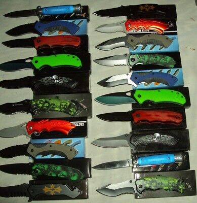 Lot of 20 pcs -Spring Assist Folding Knife (1033)