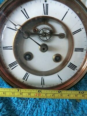 Victorian Clock Movement For Spares Or Repair