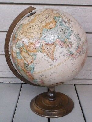 Vintage Replogle 12 Inch Diameter World Classic Series World Globe/made In Usa