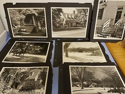 """Vintage Lot of 22 Black and White Photo ~ 8"""" x 10"""""""