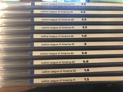 Vintage Comics Justice League Of America - Issues 1-10 - Lot #27