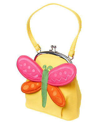 NWT Gymboree Tea Time Afternoon Dragonfly Purse Bag Girls