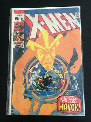 X-Men #58 1st appearance of Havok!