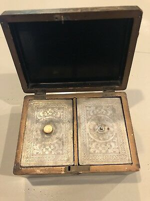 Antique Chinese Japanese Gilt Lacquer Tea Caddy
