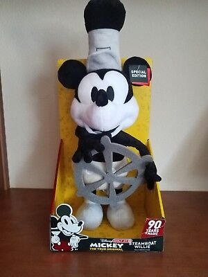 Disney Steamboat Willie Mickey Mouse Dancing Plush 90th Birthday Target 2018