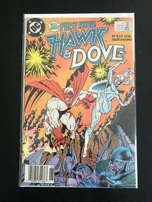 Hawk and Dove #1 1st Appearance of Barter!