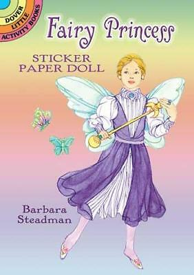 Fairy Princess Stickers Paper Doll Little Activity Book