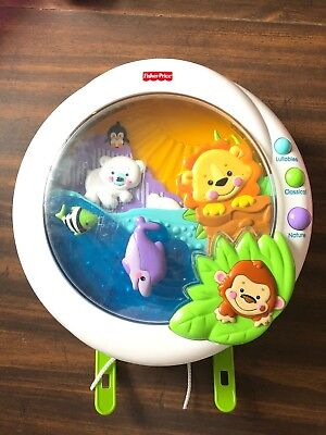 Fisher Price Precious Melodies & Motion Musical Animals Crib Mobile P5332