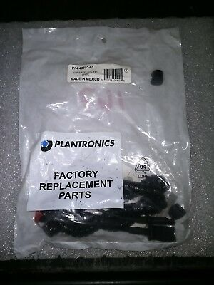 Plantronics  Lightweight Quick-Disconnect Headset Extension Coiled Cord 40703-01