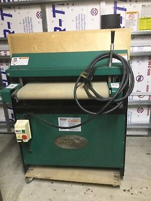 "Grizzly 24"" dual drum sander"