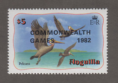 Anguillai - 1982 Commonwealth Games Overprint. Sc. #510, SG#533. Mint NH