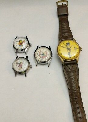 Lot Of 4 Character Watches