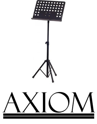 Axiom Orchestral Metal Music Stand Ideal for Students Conductor Music Stand