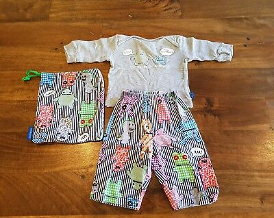 Peter Alexander Baby Boys Pyjamas 3-6 Months Good Used Condition