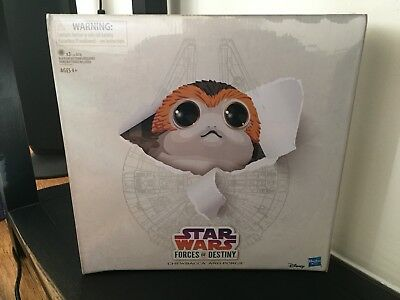 SDCC 2018 Hasbro Exclusive Star Wars Forces of Destiny Chewbacca and Porgs