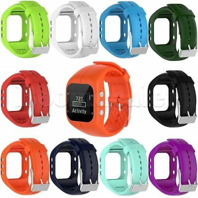 Silicone Wristband Bracelet Watch Band Strap for Polar A300 Activity Tracker New
