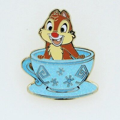 Authentic Hong Kong Disneyland Member Exclusive Dale Teacup Enamel Pin