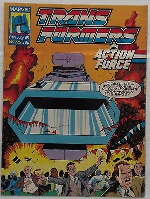 Transformers UK Comic Issue 225