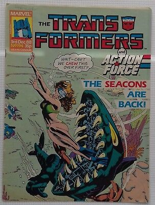 Transformers UK Comic Issue 194