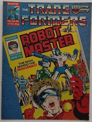 Transformers UK Comic Issue 55