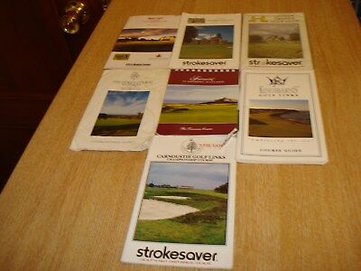 Scottish Strokesavers, Course Guides including Kingsbarns GL and Carnoustie