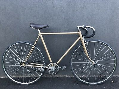 Vintage Track Bike Williams cranks new tyres.cool inner city commuter classic