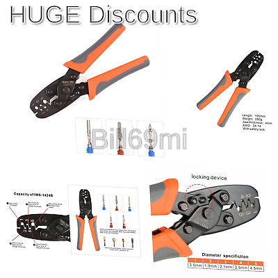 IWISS Weather Pack Terminal Crimping Tool - Wire Crimper for Delphi Metri-Pac...