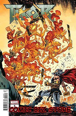 Thor #4 (2018) 1St Printing Scarce 1:10 Harren Hammer Connecting Variant Cover