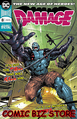 Damage #8 (2018) 1St Printing Dark Nights Metal Tie-In Dc Universe Batman