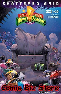 Mighty Morphin Power Rangers #30 (2018) 1St Printing Main Cover A Boom