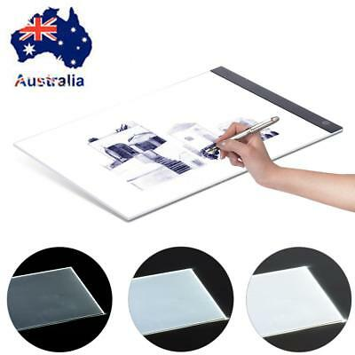 A3 A4 Dimmable LED Ultra Slim Art Stencil Tracing Tattoo Light Box Pad Board