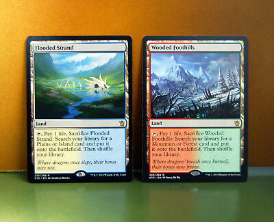 MTG Flooded Strand + Wooded Foothills