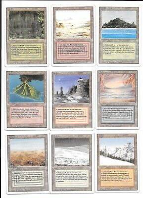 mtg magic Complete Revised Set Collezione Completa Old School Investimento Reale