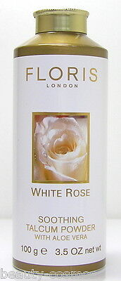 Floris London White Rose 100 g Soothing Talcum Powder
