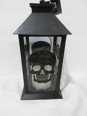 New Halloween Led  Skull Lantern  With Flickering Flameless Candle