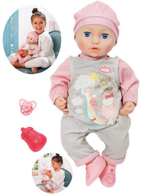 Zapf Creation Baby Annabell Puppe Mia so Soft 43 cm Babypuppe Puppenbaby NEU