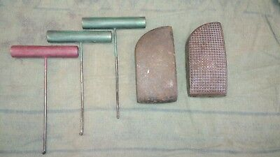 Auto Body Dolly and Pull Rod Lot