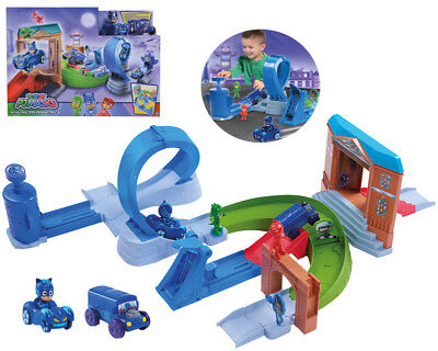 Simba 109402229 PJ Masks Rival Racers Rennstrecke/ mit Looping/ mit Catbo Film, TV & Videospiele