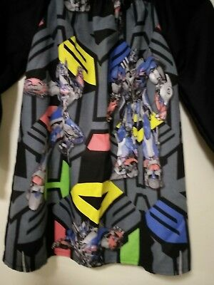 Kids Transformers COTTON  Art Smock Boys 4-7