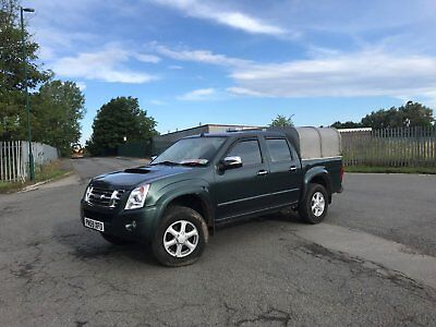 isuzu rodeo denver double cab 4x4 2010 2.5td low mileage