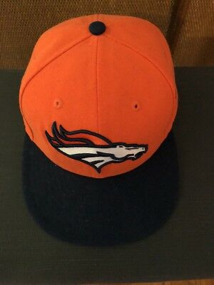 the best attitude 6fdce 6aa5a Denver Broncos New Era NFL Heather Action 2 Tone 59FIFTY Cap Fitted Hat 7